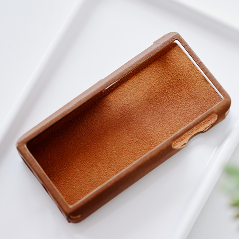 Shanling M5s Leather Case brown, чехол для плеера