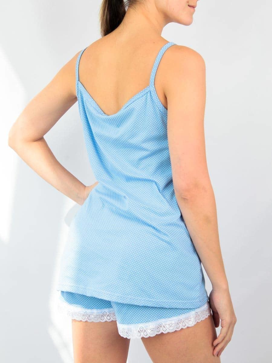 Комплект женский майка с шортами