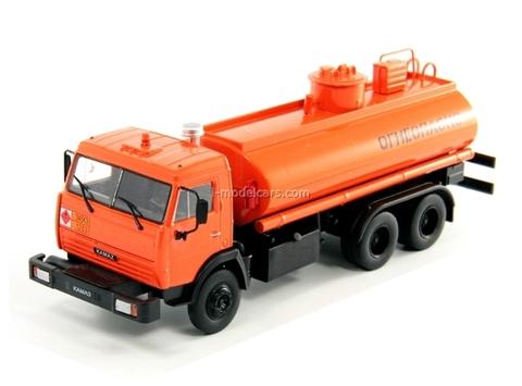 KAMAZ-53215 (5320) Petroleum Tanker 1:43 DeAgostini Service Vehicle #69