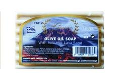 Оливковое мыло с вулканической лавой массажное Knossos 100 гр