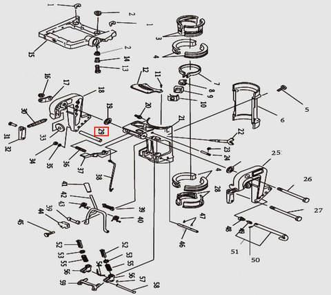 Втулка для лодочного мотора T9.8 Sea-PRO (11-29)