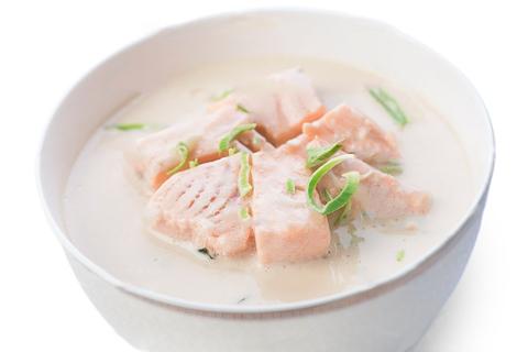 Сливочный с лососем