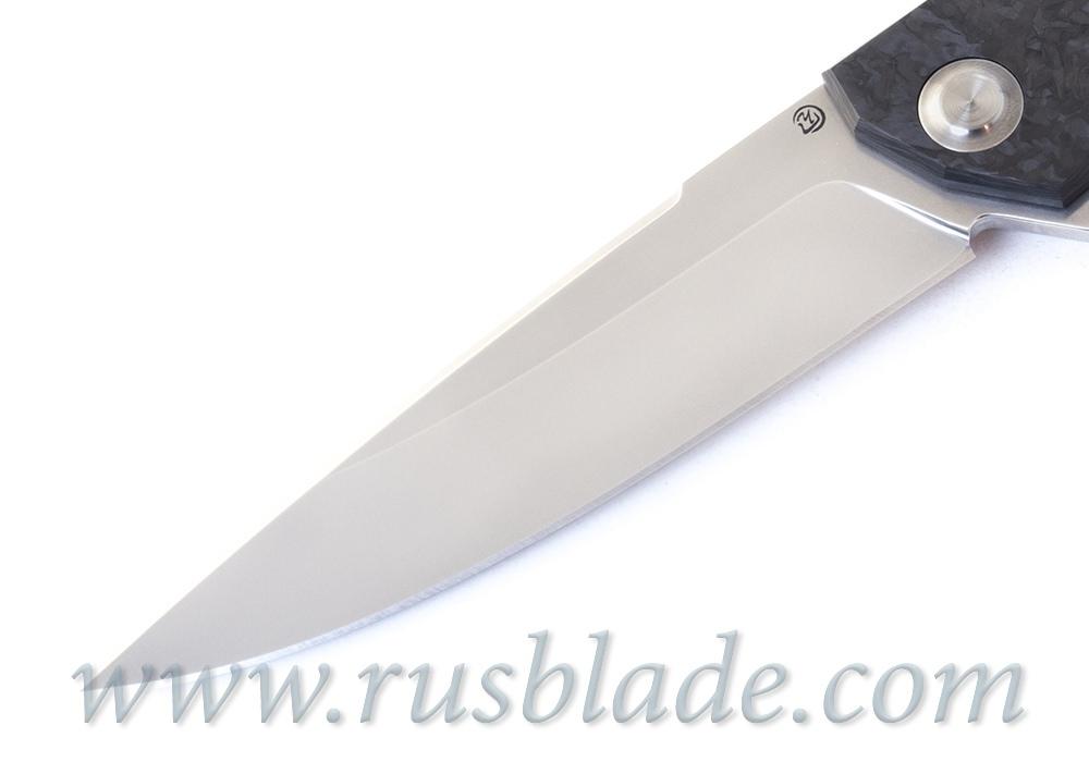 Cheburkov Hudson Semi Custom M390 marble CF