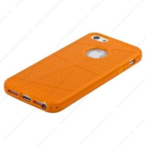 Накладка Ou Case для iPhone SE/ 5s/ 5C/ 5 - Ou case TPU case Orange
