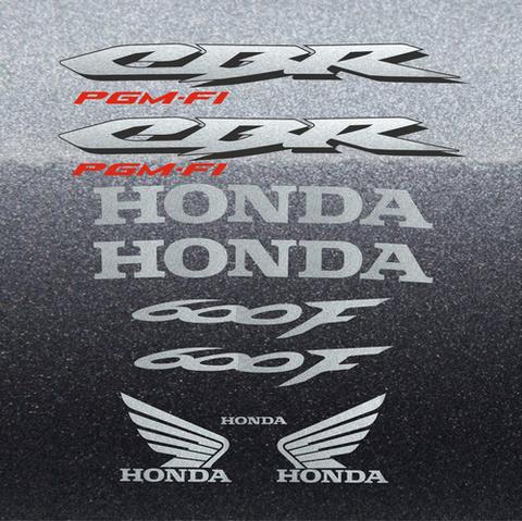 Набор виниловых наклеек на мотоцикл HONDA CBR 600 F 4, 2004