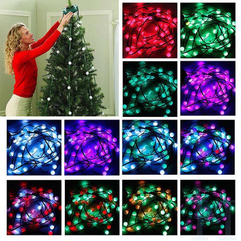 LED Гирлянда на елку 64 rgb светодиода