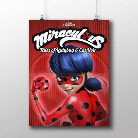 Плакат с Леди Баг №1