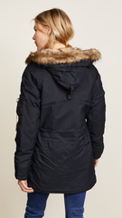 Парка Alpha Industries Altitude W Black (Черная)