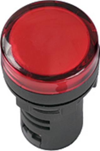 Лампа AD-22DS(LED)матрица d22мм синий 24В AC/DC TDM