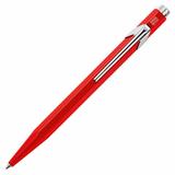 Carandache Office CLASSIC red (M) чернила: синий металл в подарочной коробке (849.070_ MTLGB)