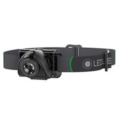 Фонарь светодиодный налобный LED Lenser MH2, черный, 100 лм, 3-AAA