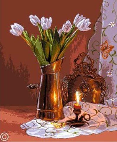 G-903 Natura cu lalele (Ваза с  тюльпанами)