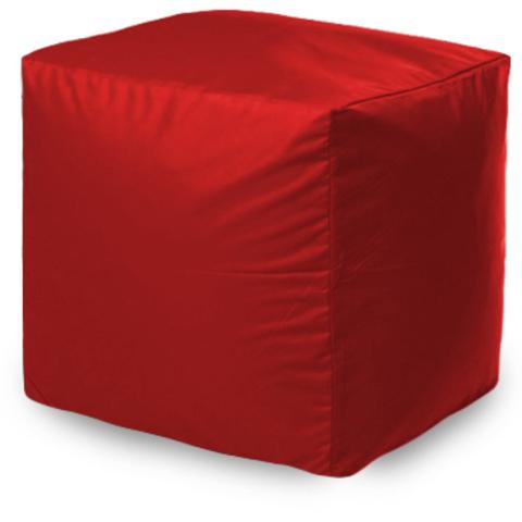 Пуфик квадратный, Красный
