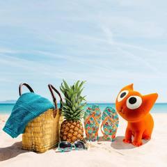 Подушка-игрушка антистресс «Котенок Спарк» 5