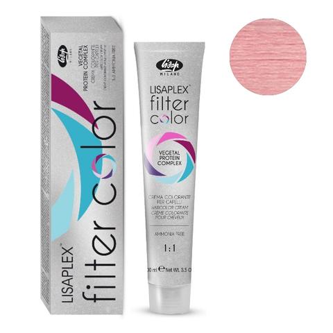 Оттенок розовый металлик Крем-краситель для волос Lisaplex Filter Color 100мл