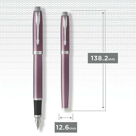 Перьевая ручка Parker IM Metal Light Purple CT123