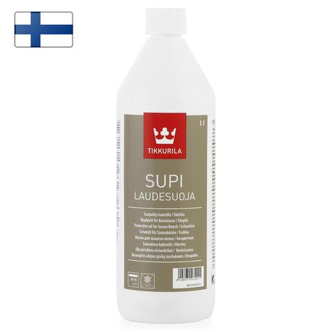 Парафиновое масло для дерева Tikkurila Supi Laudesuoja 1l.