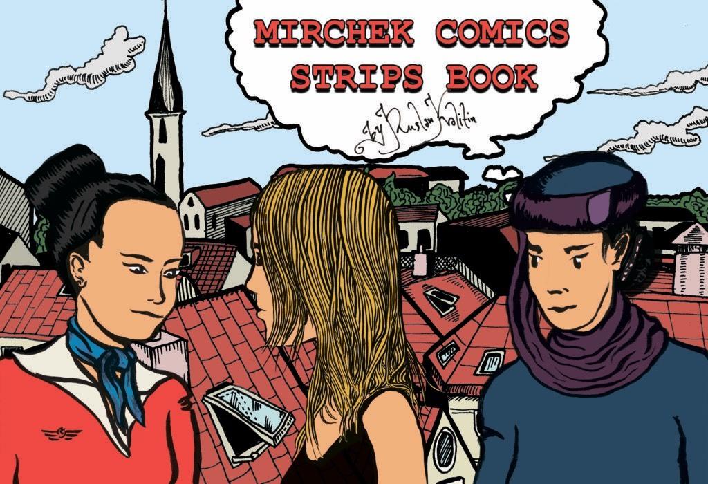 Mirchek Comics Strips Book
