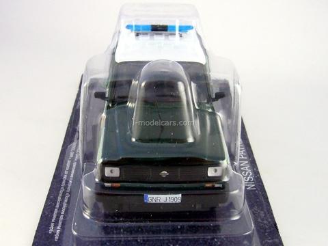 Nissan Patrol 1985 GNR Portugal Guard 1:43 DeAgostini World's Police Car #54
