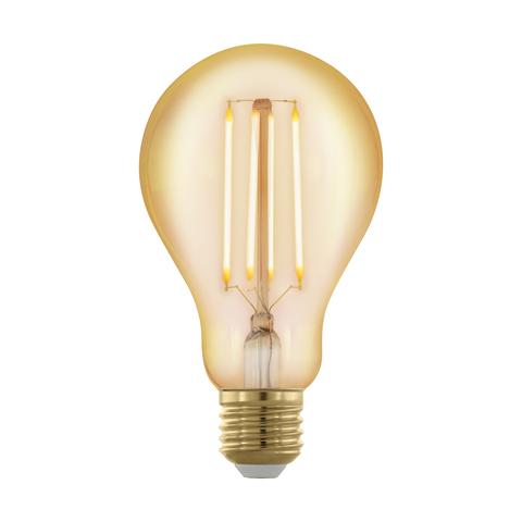 Лампа  LED филаментная диммир. золотого цвета Eglo GOLDEN AGE LM-LED-E27 4W 320Lm 1700K A75 11691