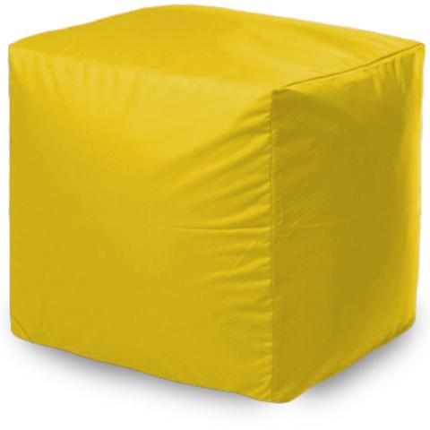Пуфик квадратный, Желтый