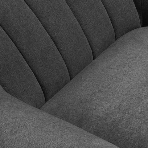 Кресло Off темно-серое