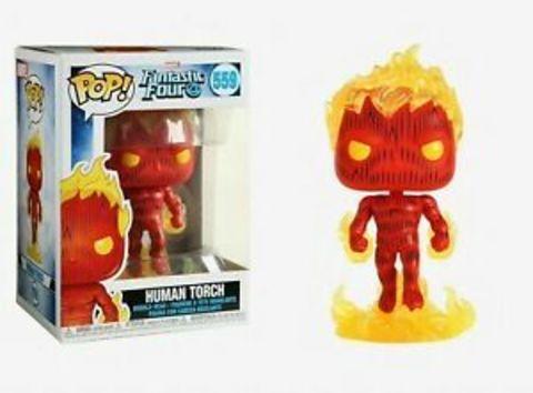 Human Torch (559) (Fantastic Four) Funko Pop!    Человек-Факел