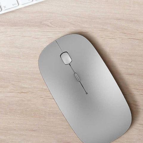Мышка WiWU для ноутбука серебристая