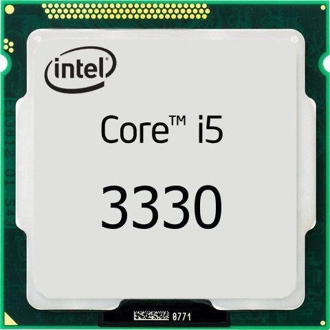 процессор Intel S-1155 Core i5-3330 (3,0GHz/3,2GHz) 4C/4Th 6mb Cache HD2500 oem