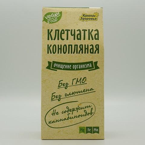 Клетчатка конопляная КОМПАС ЗДОРОВЬЯ, 150 гр