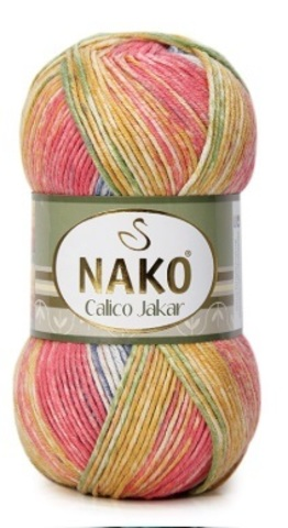 Пряжа Nako Calico Jakar арт. 31831
