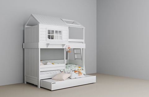 Кровать-домик для мальчика