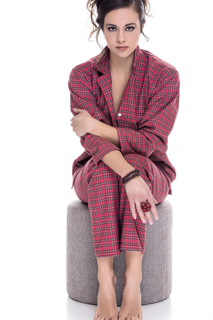 Женская фланелевая пижама DolceVita