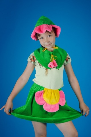 Карнавальный костюм Цветочка