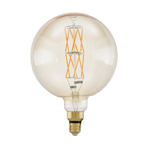Лампа  LED филаментная диммир. янтарного цвета Eglo BIG SIZE LM-LED-E27 1X8W 806Lm 2100K G200 11687
