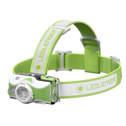 Фонарь светодиодный налобный LED Lenser MH7, зеленый, 600 лм, аккумулятор