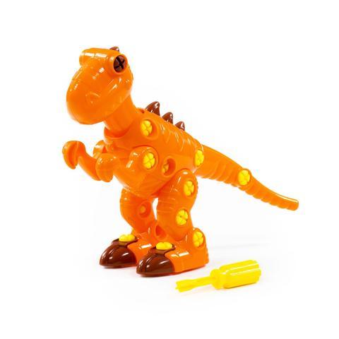 Конструктор-динозавр 40 дет.