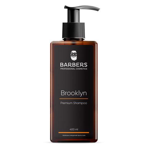 Шампунь для мужчин против перхоти Barbers Brooklyn 400 мл (1)