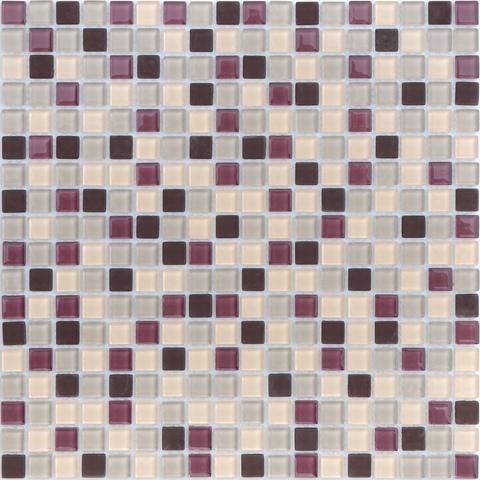 Мозаика стеклянная с камнем Elbrus 15x15x4 305х305