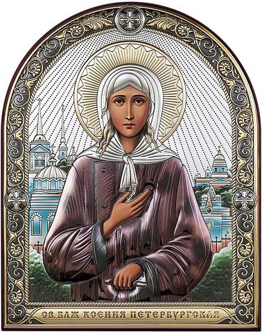 Икона Святая Ксения Петербургская