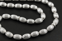 Мусульманские чётки из серебра 925 пробы 33 бусины