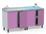 Стол для санитарной обработки, купания новорожденных  БТ-ТМ-180-Н