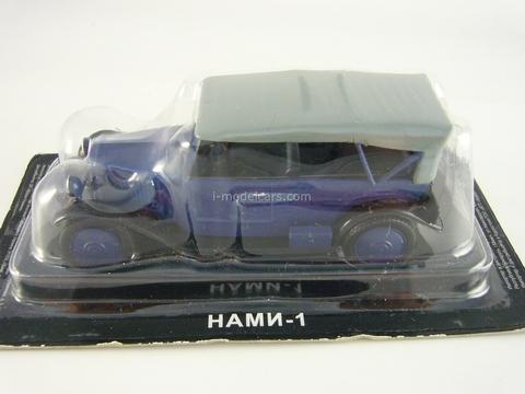 NAMI-1 blue 1:43 DeAgostini Auto Legends USSR #99
