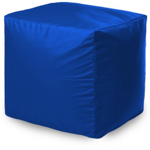 Пуфик квадратный, Синий