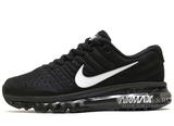 Кроссовки Мужские Nike Air Max 2017 Black White 1