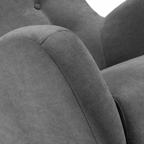 Кресло Passo темно-серое