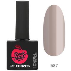 Гель-лак RockNail Bad Princess 587 Glass Stiletto
