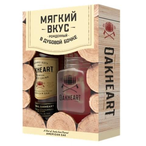 Напиток спиртной Оакхарт Ориджинал 0,7+стакан