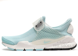Кроссовки Женские Nike Sock Dart SP Fragment Design Light Blue White