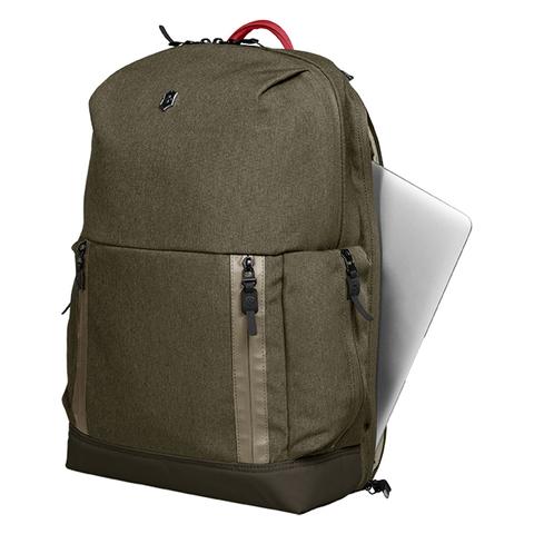 Рюкзак Victorinox Altmont Classic Deluxe Laptop 15'', зелёный, 30x15x48 см, 21 л